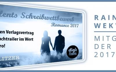 """Mitglied der Jury des digi:talents-Schreibwettbewerb """"Romance"""" 2017"""