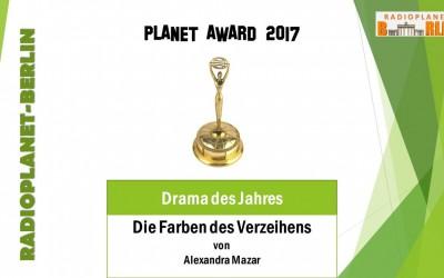 Alexandra Mazar gewinnt Planet-Award