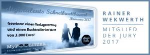 Rainer Wekwerth ist Mitglied der Jury zum digi:talents Schreibwettbewerb Romance 2017