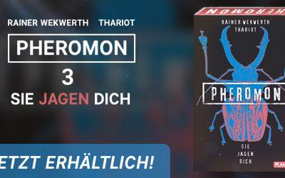 """""""Pheromon 3"""" von Rainer Wekwerth erschienen"""