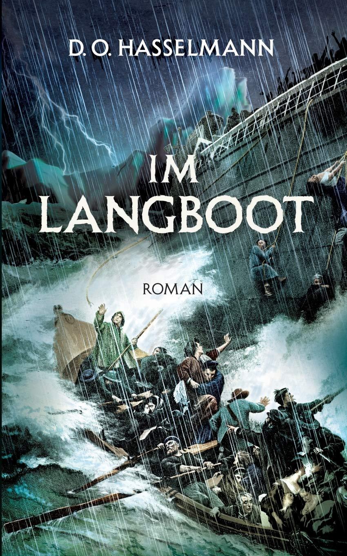 """Cover zu """"Im Langboot"""" von D. O. Hasselmann"""
