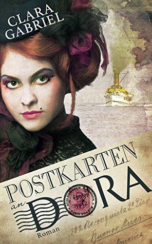 """Cover zu """"Postkarten an Dora"""" von Clara Gabriel"""