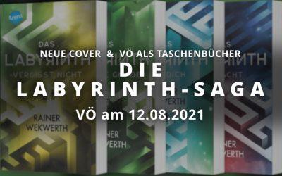 Labyrinth-Saga ab 12.08. mit neuen Covern